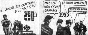 Il fascismo visto dall'altra parte (da un opuscolo del PCI degli anni '50)